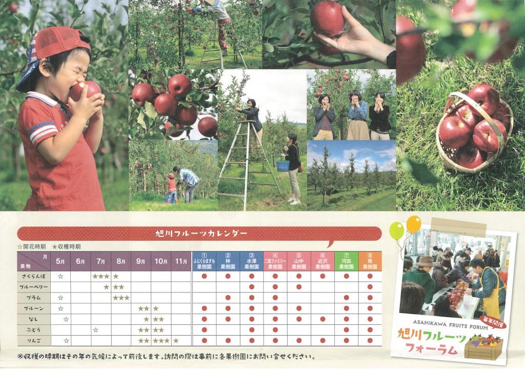 旭川フルーツカレンダー