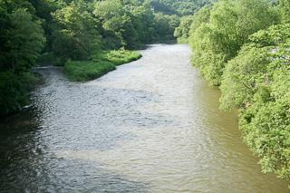 オサラッペ川の風景・夏
