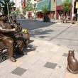 買物公園を彩る彫刻