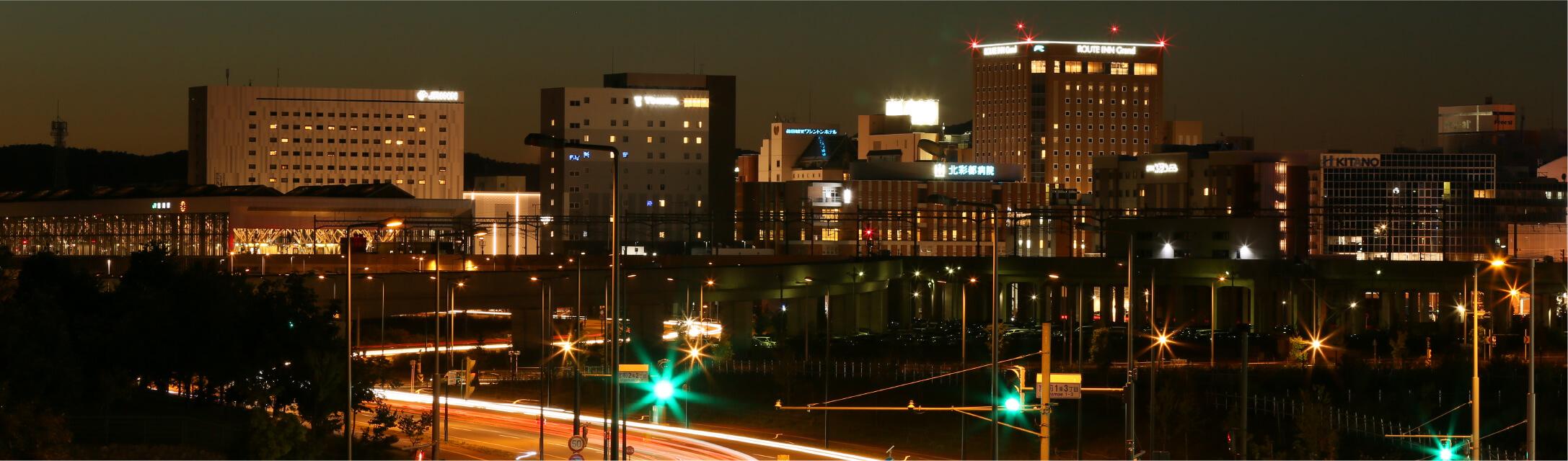 旭川市夜景