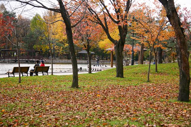 常磐公園 旭川観光