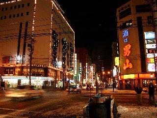 道北最大の繁華街「さんろく街」