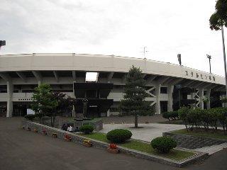 旭川を代表する球場「スタルヒン」球場