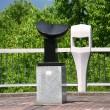 市内に点在する彫刻