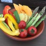 地元の旬の野菜をジンギスカンに!